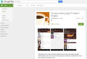 ChristianCafe rating by google