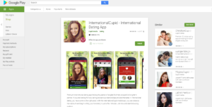 InternationalCupid rating by google