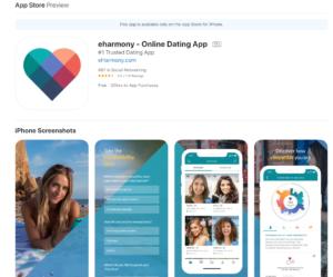 eeharmony rating by apple