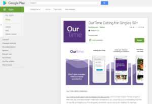 ourtime rating by google