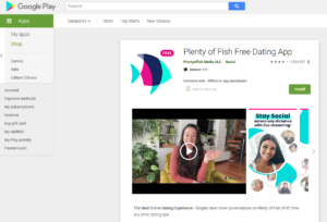 pof app rating by google play